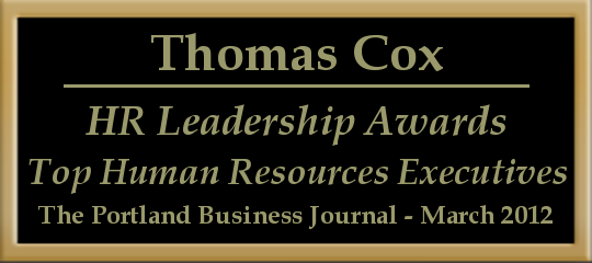 Thomas Cox nominated for HR Leadership Award